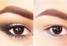 Como maquillar ojos caidos