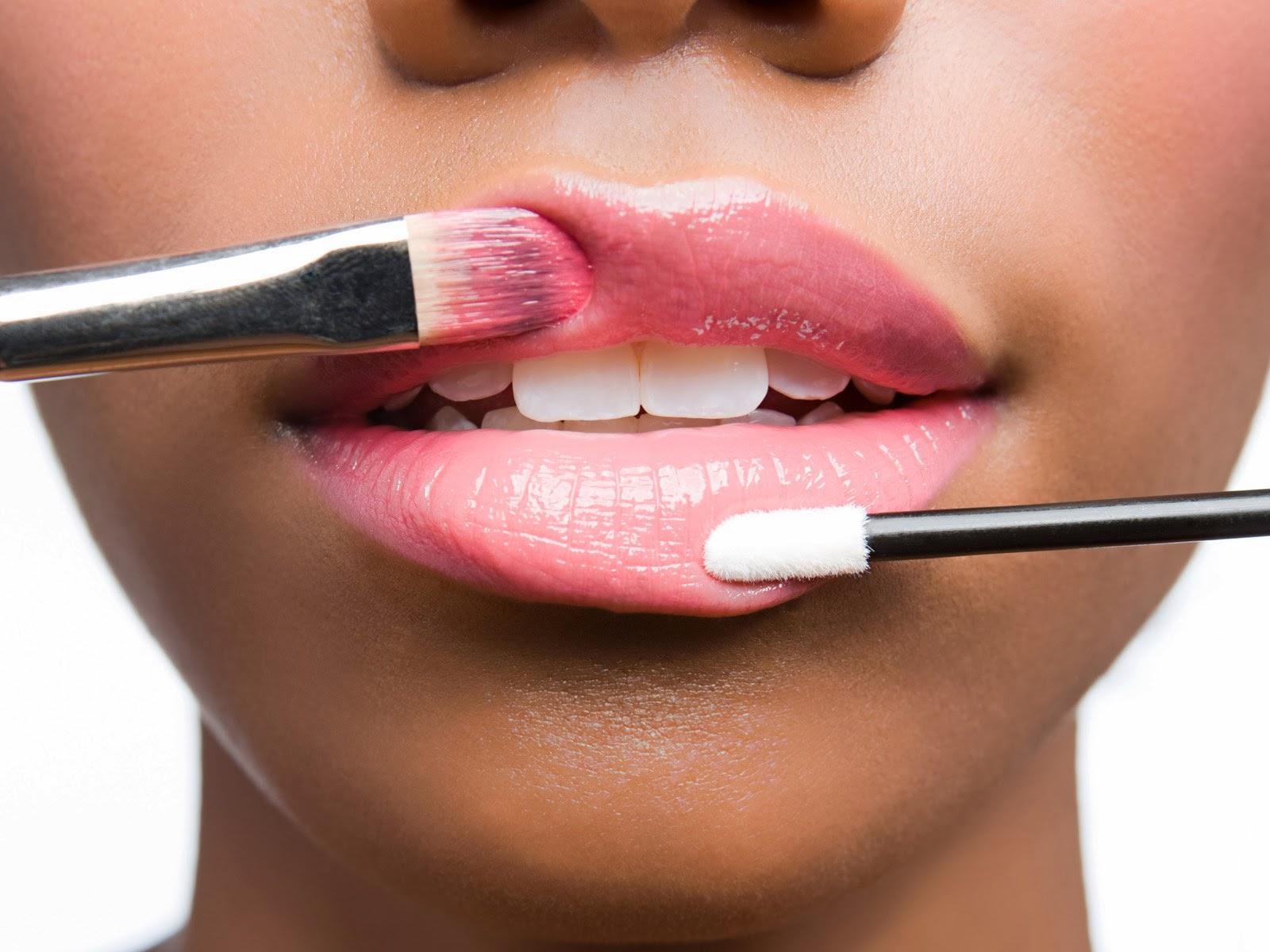 Como maquillarse los labios 10