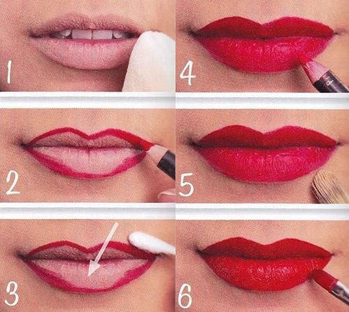 Como maquillarse los labios 14