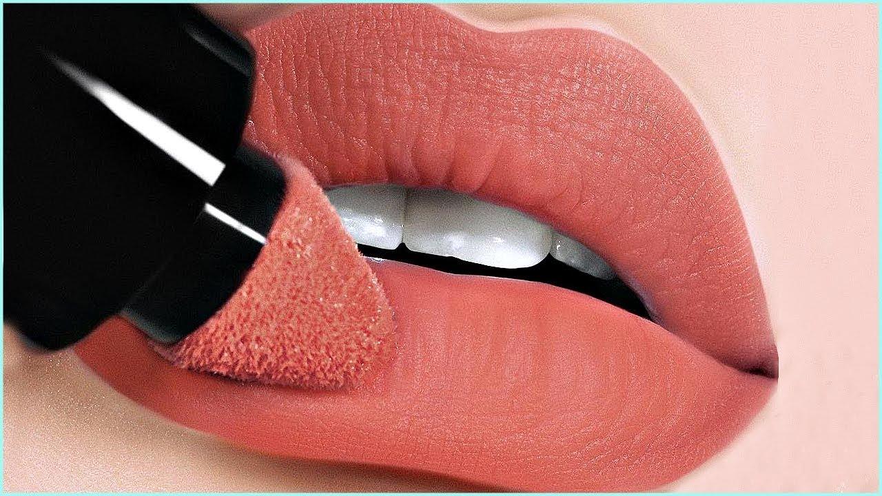 Como maquillarse los labios 4