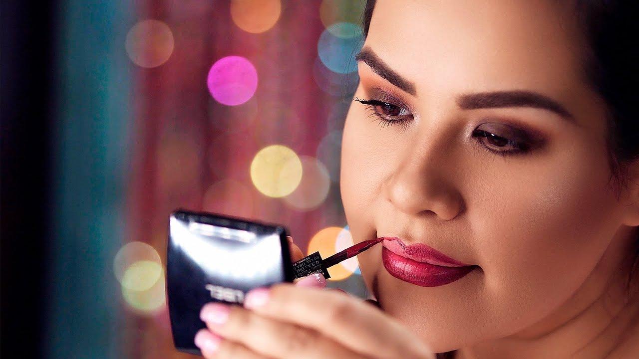 Como maquillarse los labios 6
