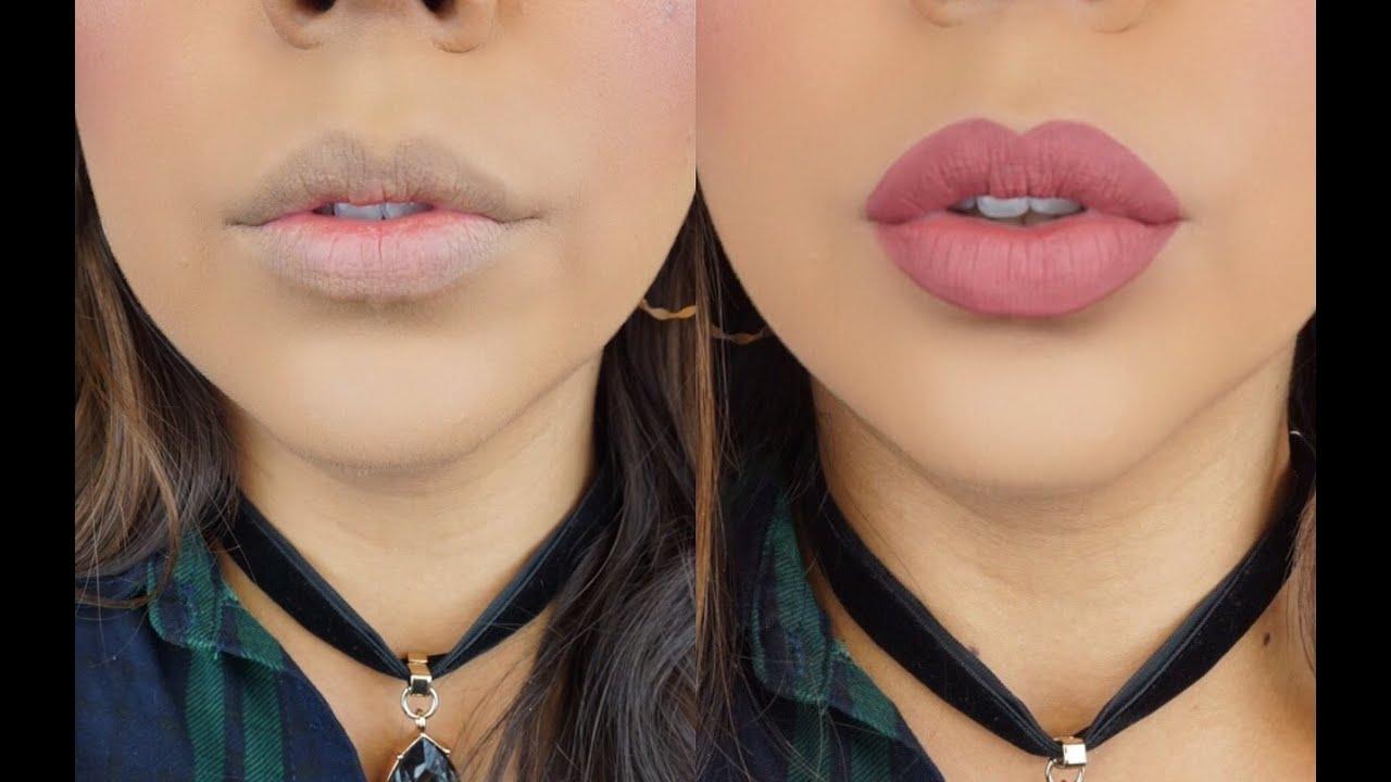 Como maquillarse los labios 9