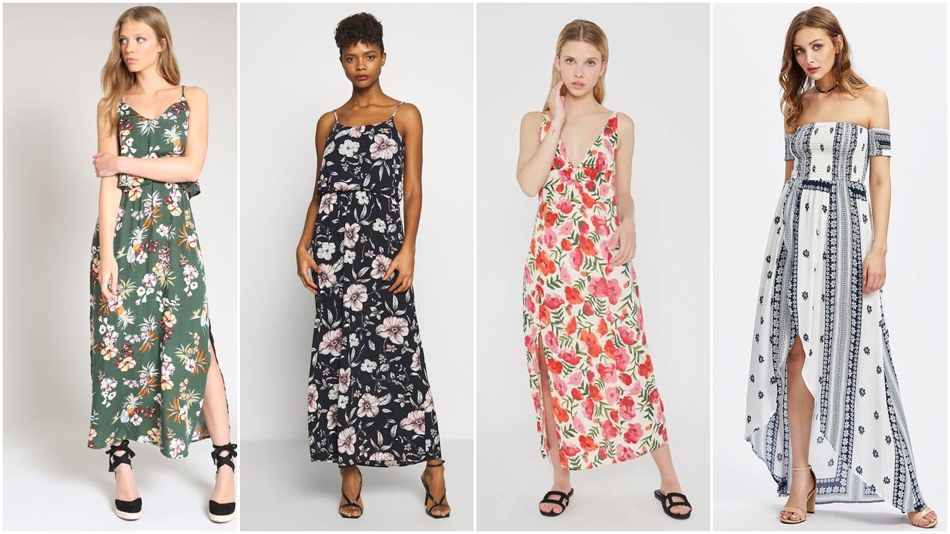 Vestidos de verano sencillos y muy estilosos