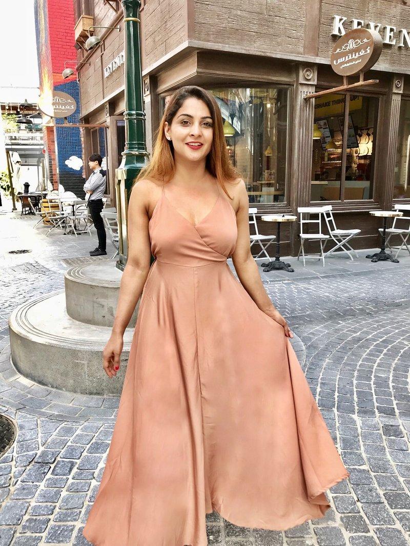 Vestidos de color nude