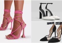 Tacones de moda por color y tendencia