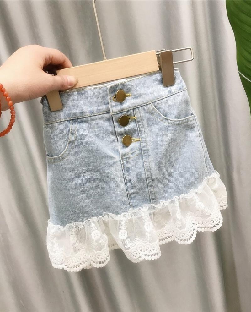 como hacer faldas de jeans viejos 2