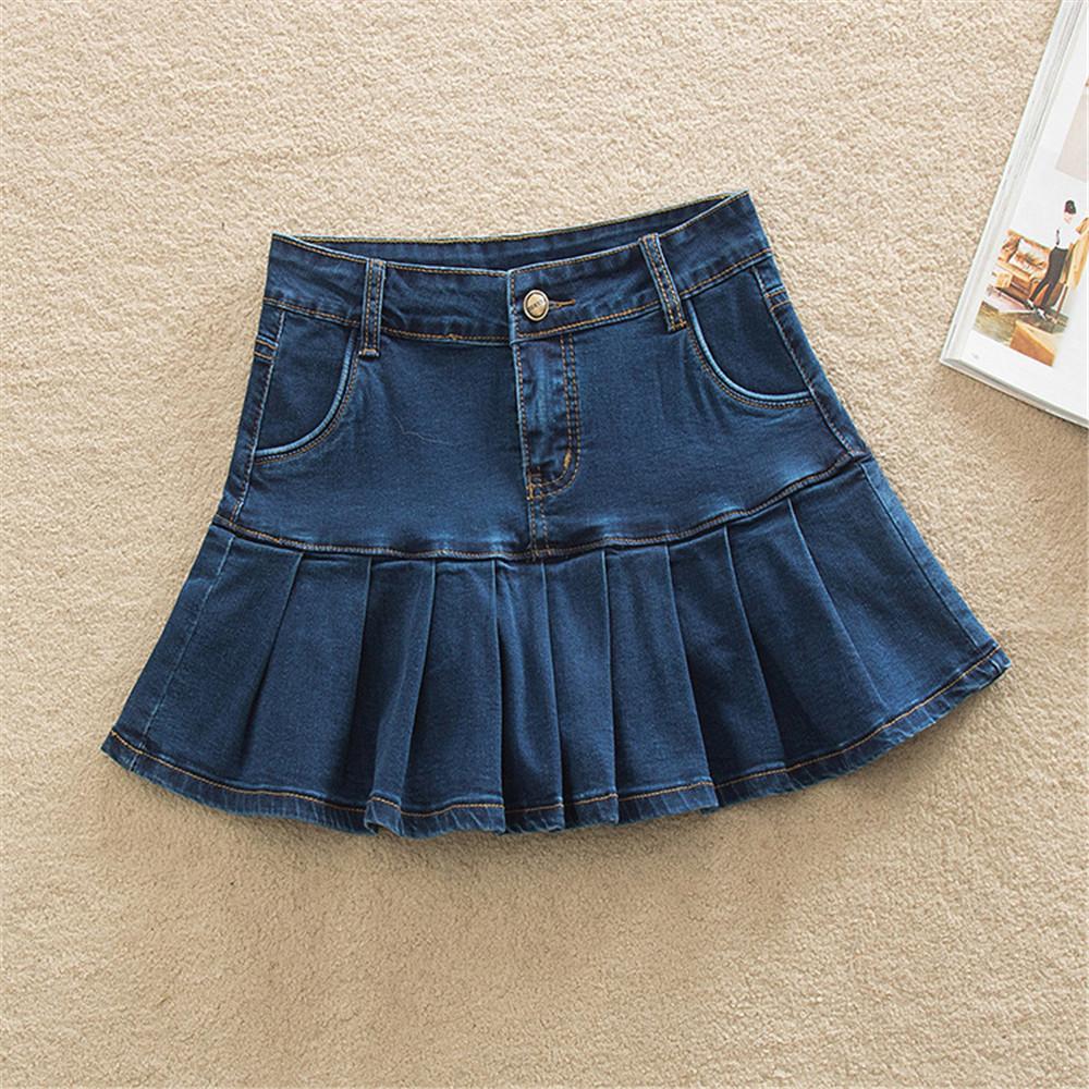como hacer faldas de jeans viejos 33