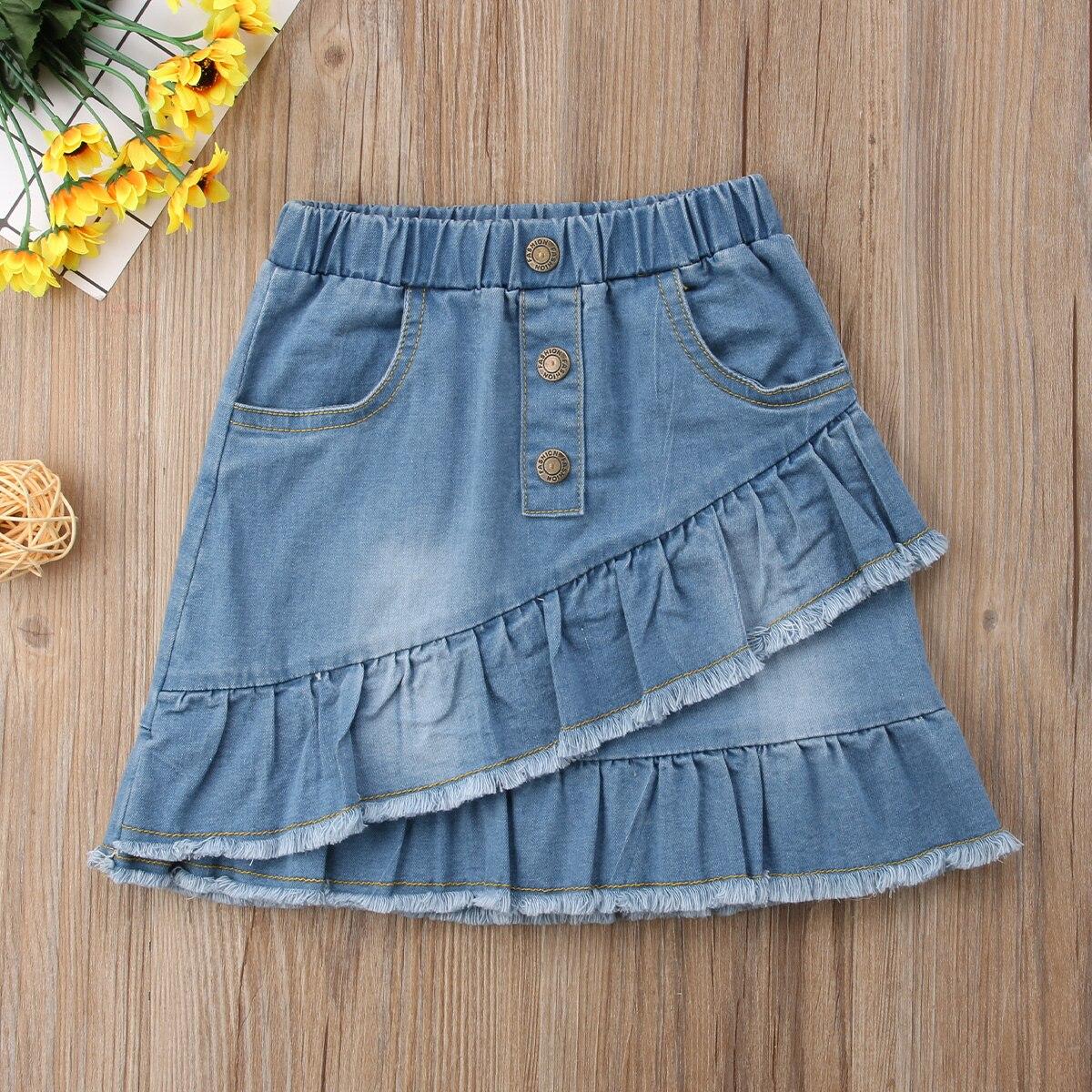 como hacer faldas de jeans viejos g1