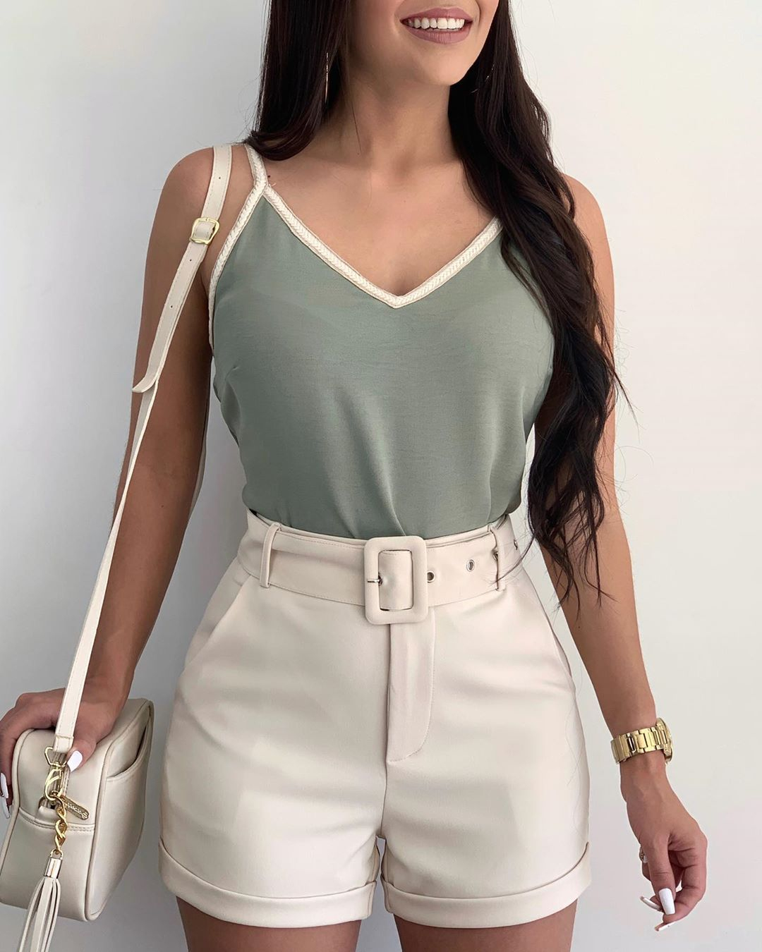 Outfit con short